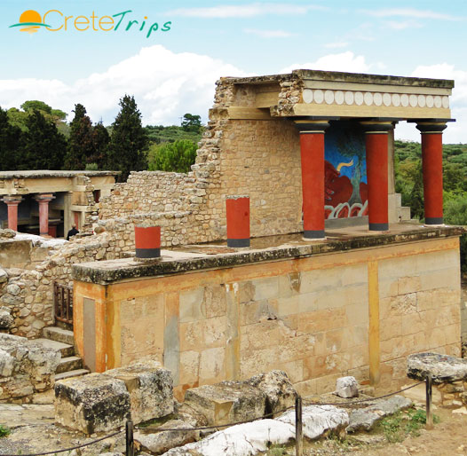 <font color=#00a680>Chania - Knossos & Musuem</font>, One Day Trip